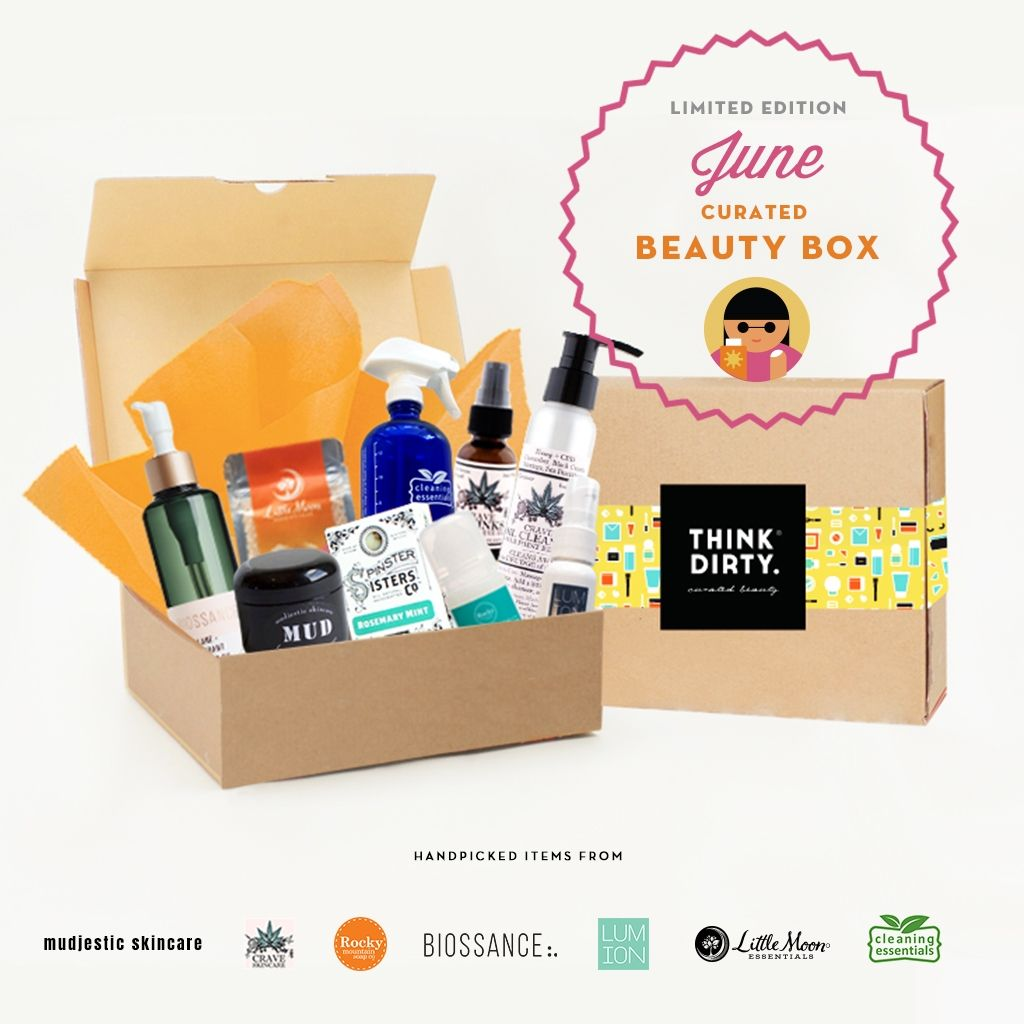 Do Not Use Think Dirty June Limited Edition Beauty Box