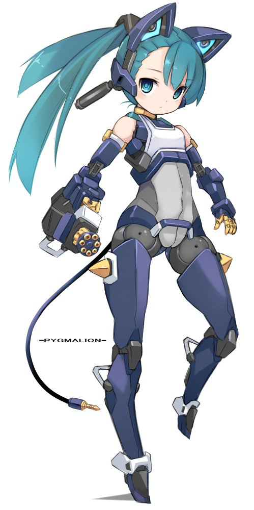 Pin By Danielle Pearl On Cool Shit Cute Anime Character Cyborg Anime Cat Character