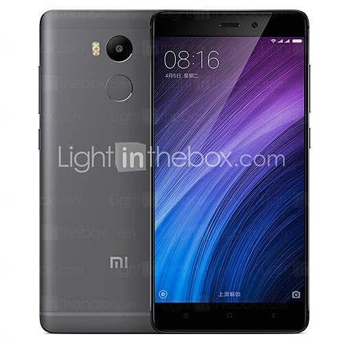 """Xiaomi Redmi 4 5.0 """" MIUI Smartphone 4G (Double SIM Huit Cœurs 13 MP 2GB + 16 GB Argenté / Gris / Doré)"""