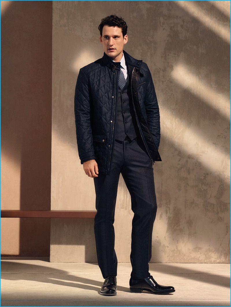 Salvatore Ferragamo 2016 Pre Fall Menswear Mens Fallwinter Style