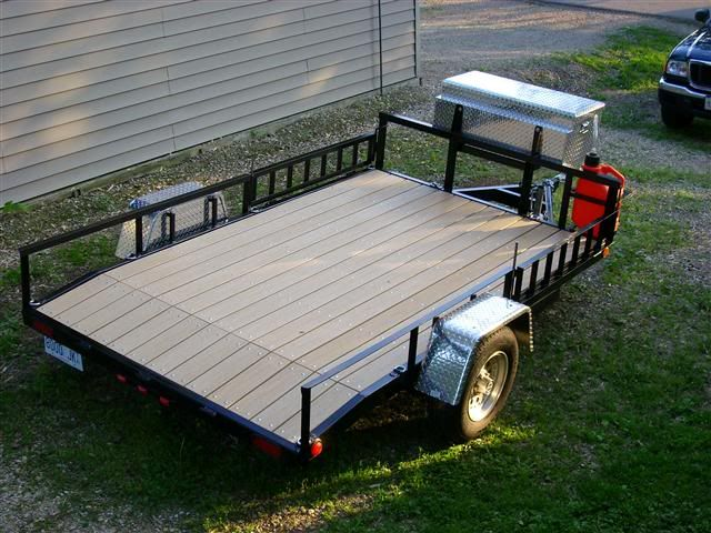 Show Us Your Welding Projects Page 4 The Garage Journal Board Welding Projects Utility Trailer Welding