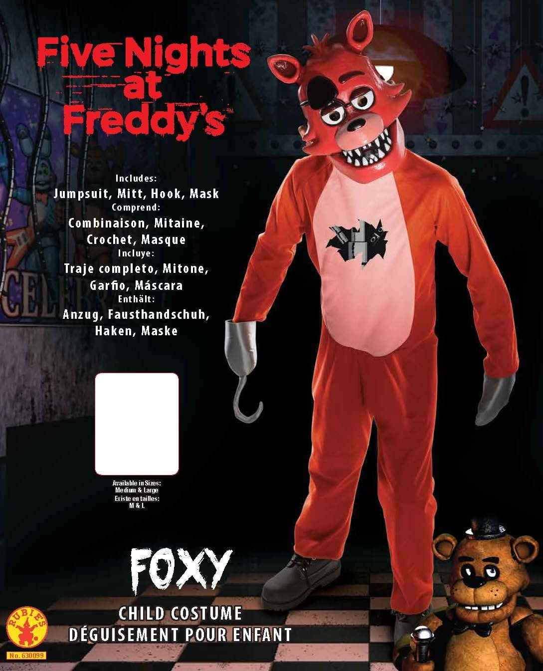 Rubies Kids Deluxe Freddys Costume Medium