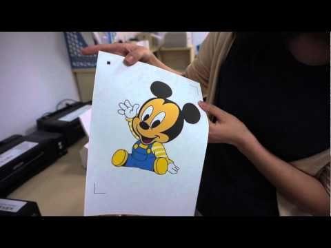 b69018097 Hanrun Dark T shirt Transfer Paper Printing and Cutting - YouTube ...