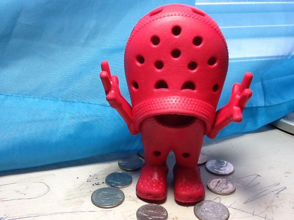 it's so creepy Chrissy, Crocs