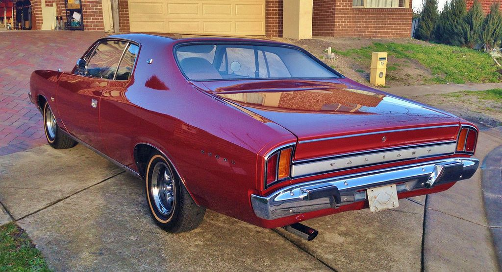 1972 Chrysler Vh Valiant Regal 770 Australian Cars Chrysler
