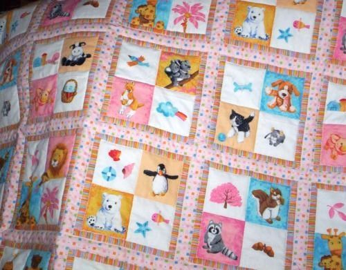 caricature quilting | Using Cheater Fabric, Panels and Linear ... : quilts fabric - Adamdwight.com