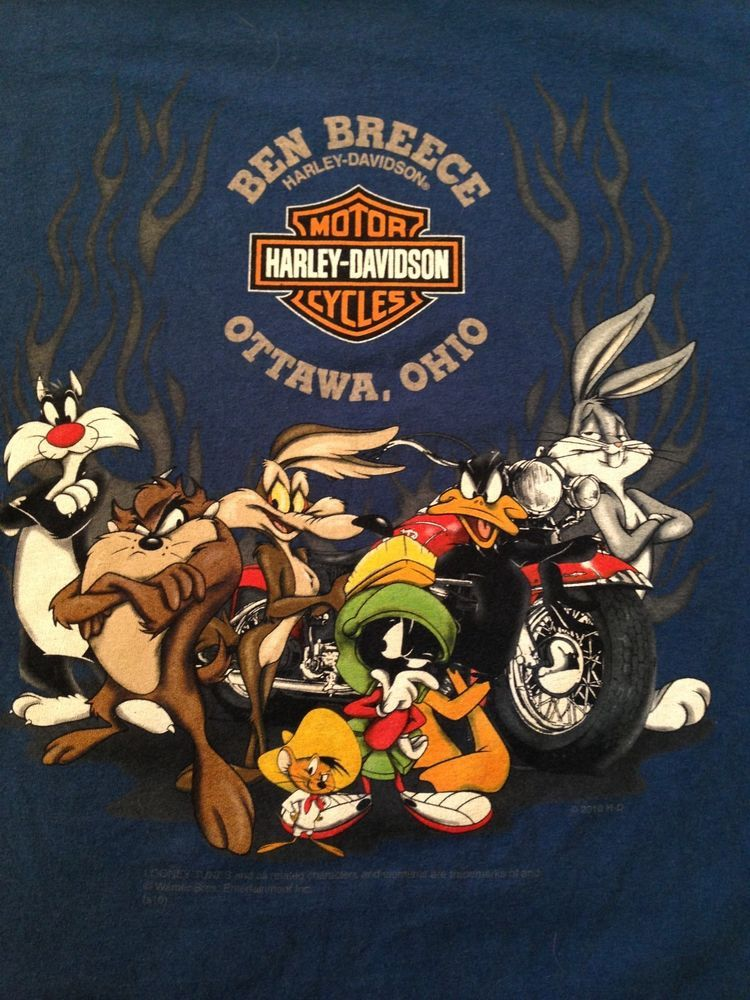 "vintage harley-davidson ottawa, ohio t shirt xl | janky""s jackets"
