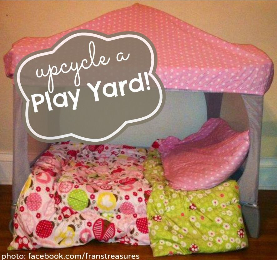 How To Upcycle A Pack N Play Cut Out The Mesh From One