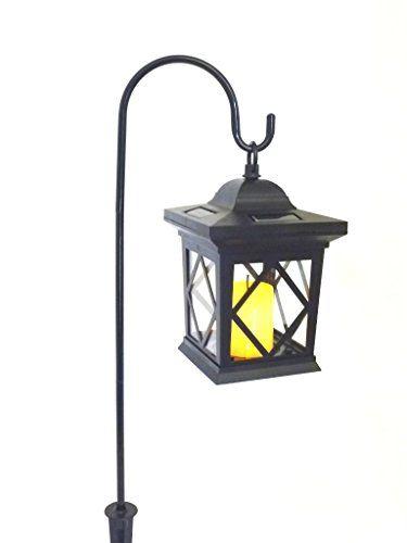 LED Solar Laterne Romantica Schwarz Mit Kerzen Flackerlicht Solarleuchte  Dekolampe.   Solarleuchten Garten Solarleuchte Solarleuchten Basteln Solaru2026