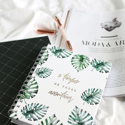 bullet journal, bujo brasil, planner, greenery, green vibes, fazer acontecer, make it happen, time is now, vipapier papelaria de luxo, green, bullet journal ideias