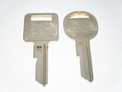 Jeep Key Blank Oem Logo Jeep Keys 1985 1990 Ignition Lock Door