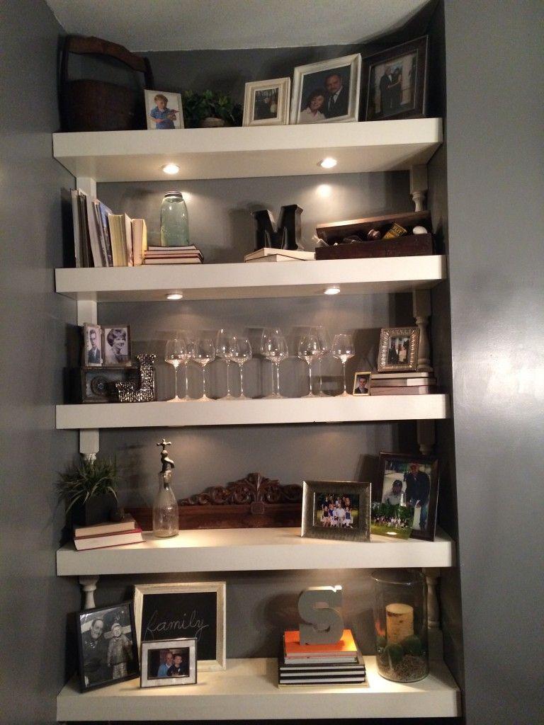 decorating shelves  easy  home floating shelves