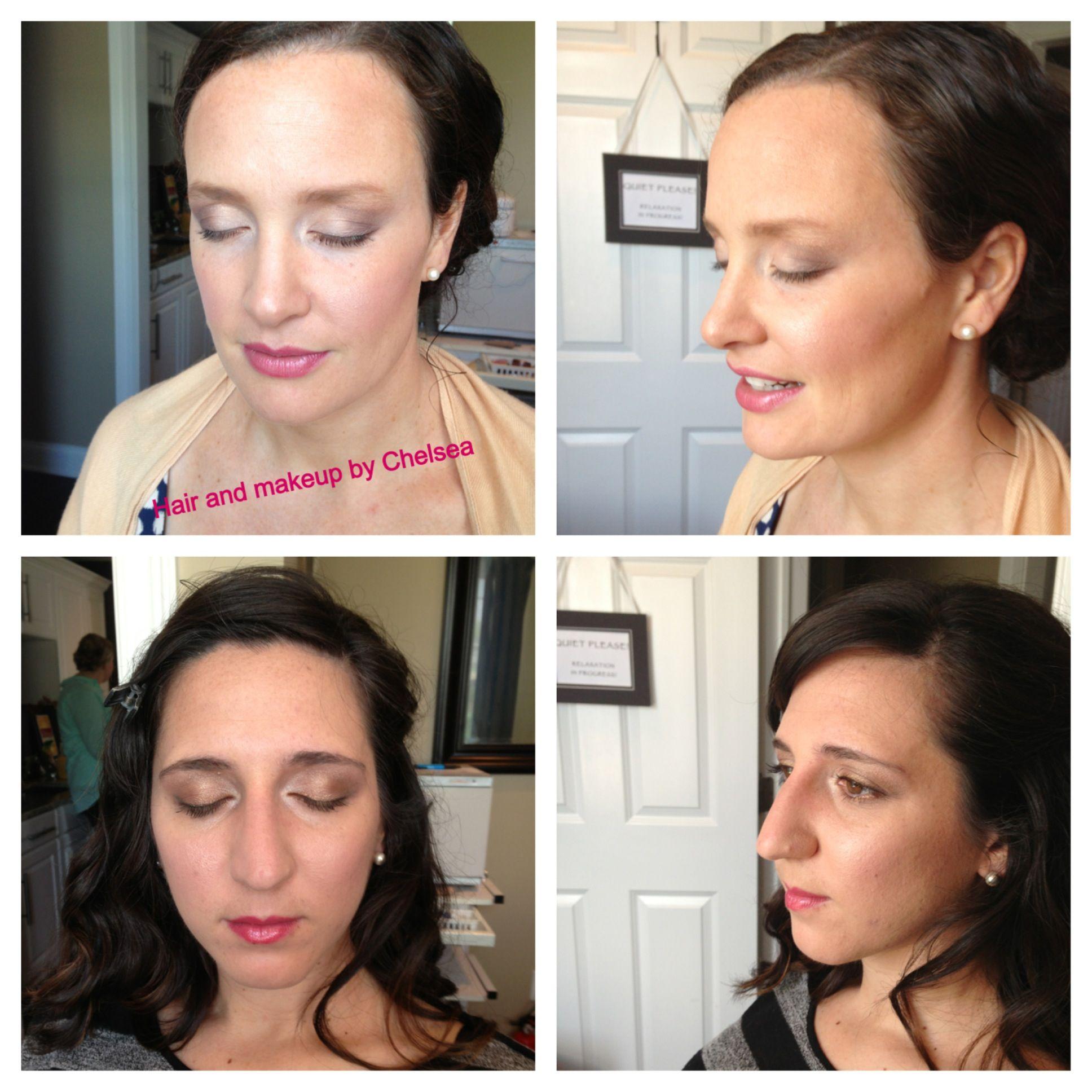 Bridesmaids makeup!