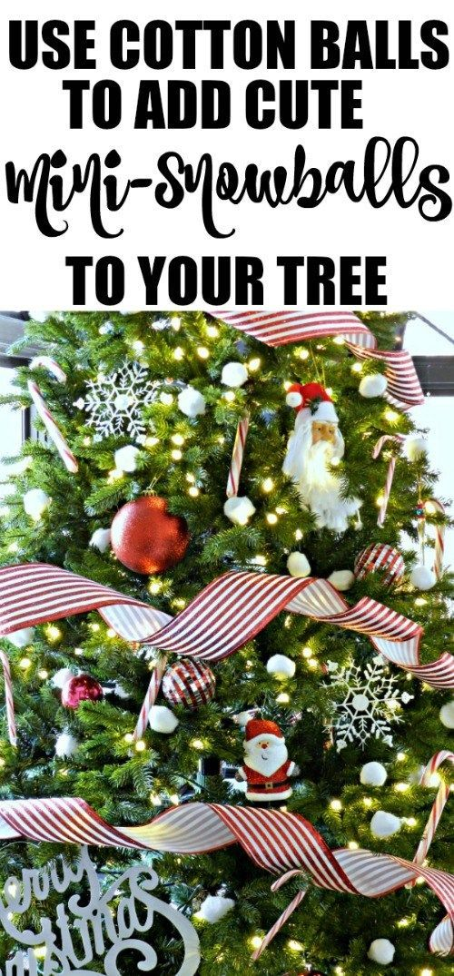 Cotton Candy Cane Christmas Tree Cotton candy, Candy canes and