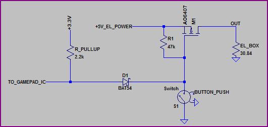el wire switch 5v
