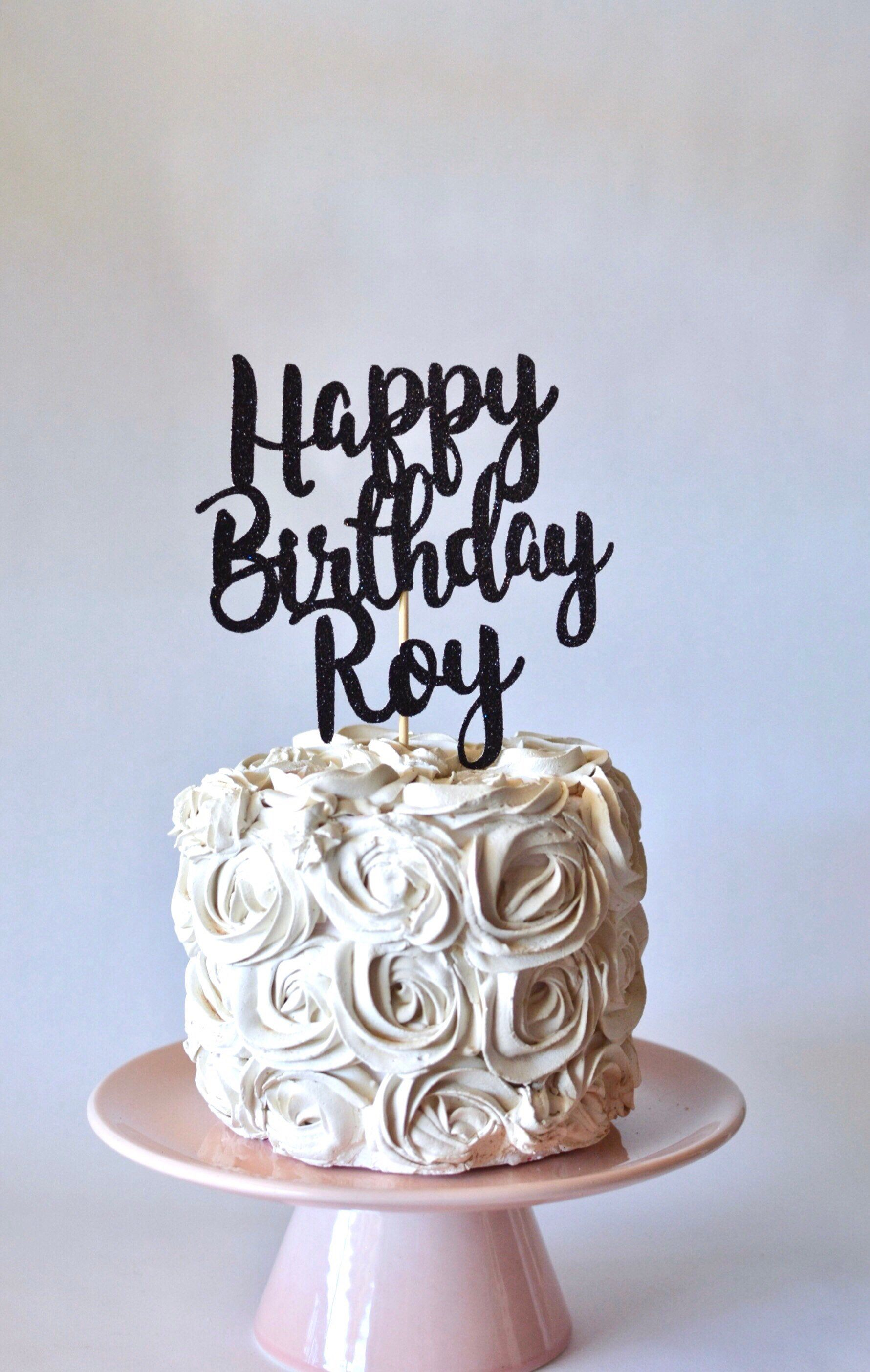 Pin On Birthday Cake Toppers