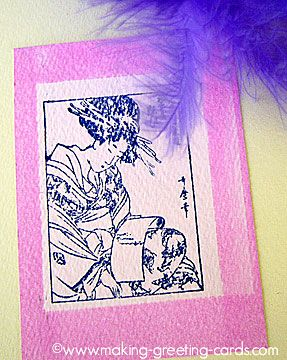 Artist Trading Card  Call It Atc In Short Japanes Lady Download