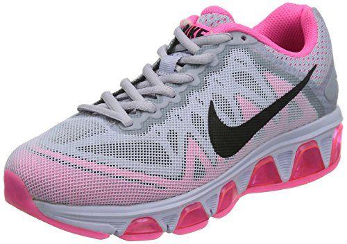 bel air max vento nike donne 7 scarpe da corsa, titanio / rosa
