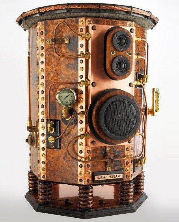 Steampunk audio design? - AudioKarma org Home Audio Stereo