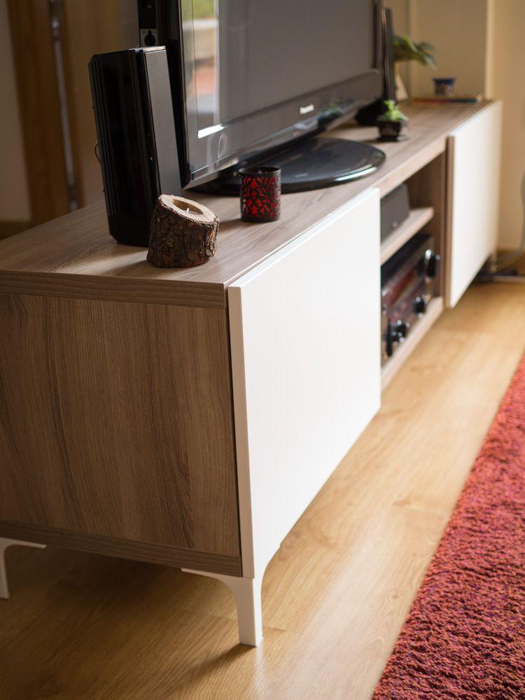 Nuestro mueble best de ikea para la tv decorando - Muebles para salon ikea ...