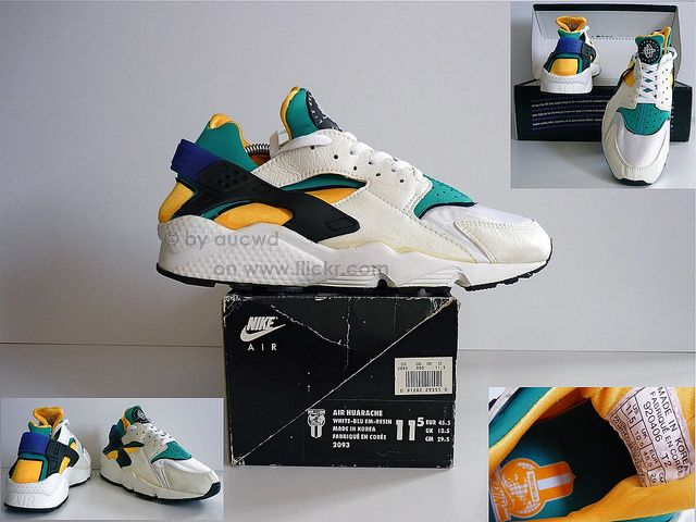 wholesale dealer e86ec bb077 UNWORN 80`S   90`S VINTAGE NIKE AIR HUARACHE SHOES   Flickr - Photo Sharing!