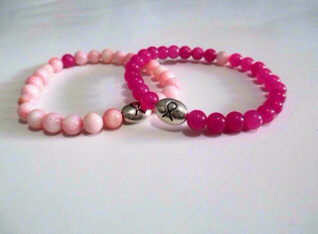 A personal favorite from my Etsy shop https://www.etsy.com/listing/166531137/wear-pink-set-of-2-breast-cancer