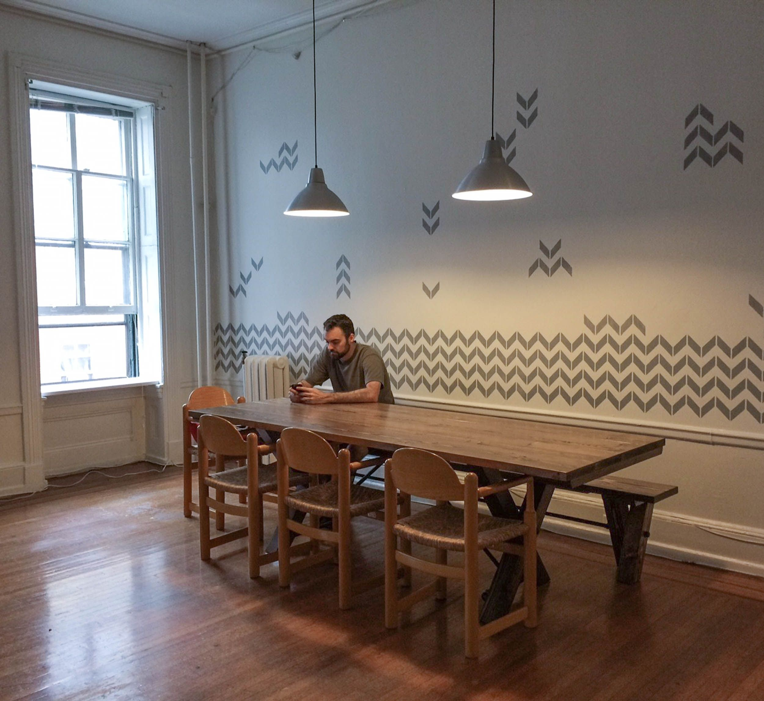 Trestle Tables | Solid wood kitchens, Dark walnut stain and Black pipe