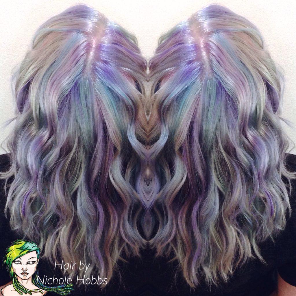 Unicorn Hair Unicorn Popsicles Pastel Hair Vivid Color Pravana