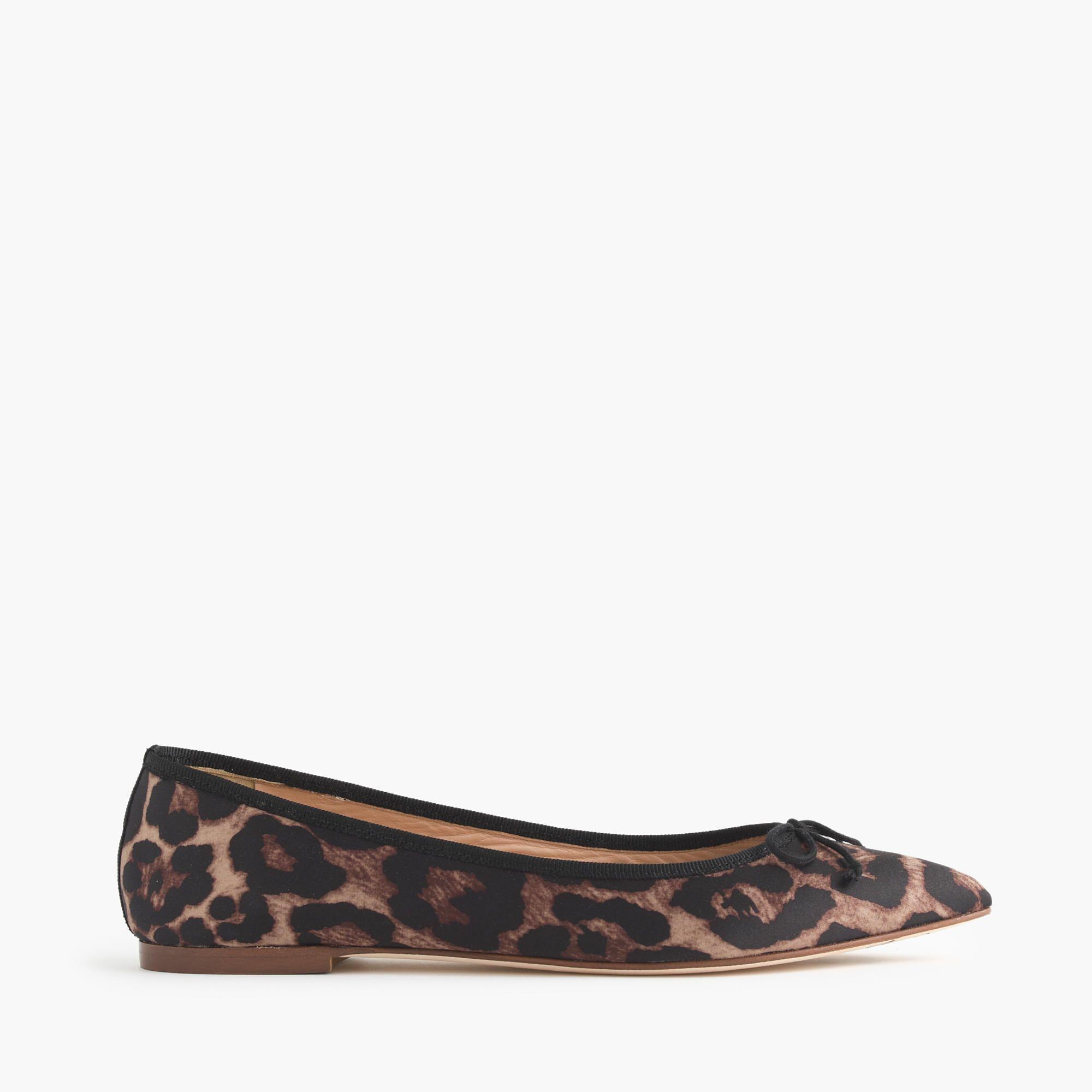 J.Crew Womens Gemma Leopard Flats (Size 6 M)