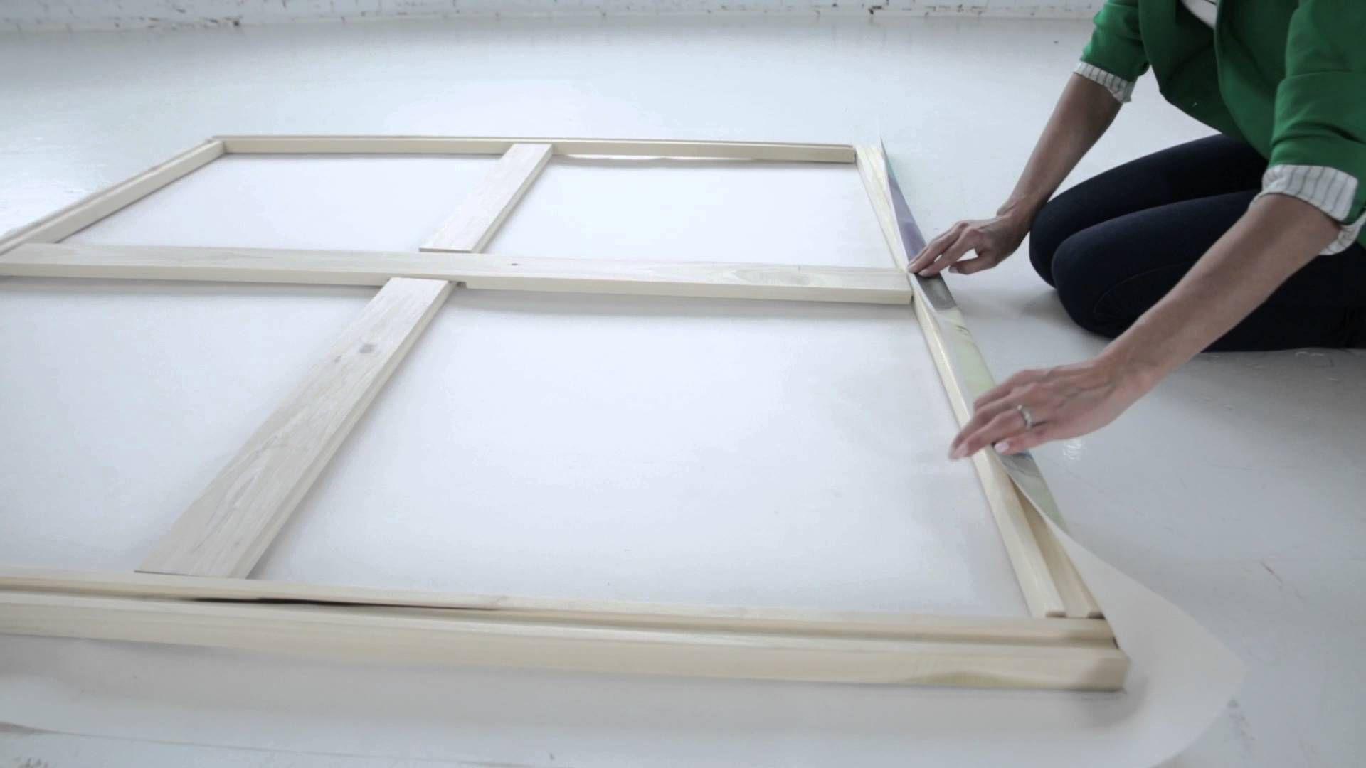Système d'étirage Art Stretcher / DIY Giant Canvas