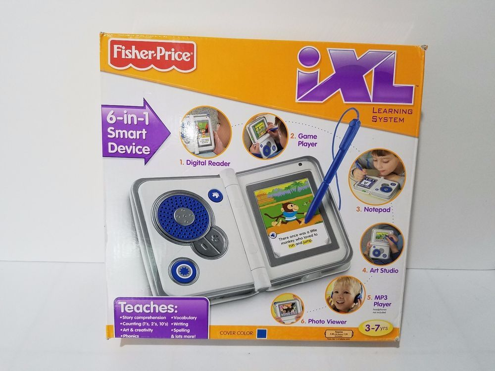 Fisher Price iXL 6in1 Learning System BLUE Educational