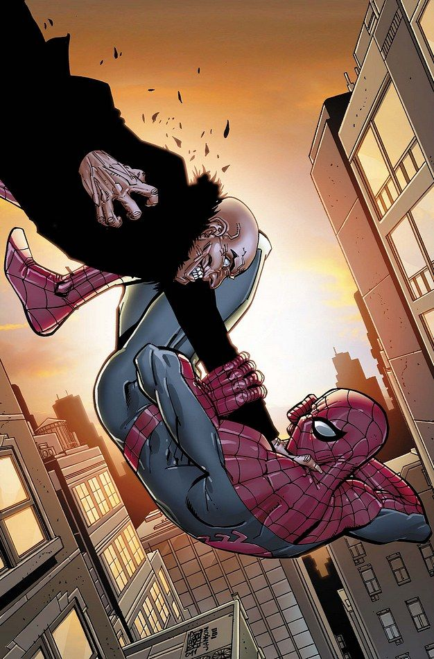 #Amazing #Spiderman #Fan #Art. (AMAZING SPIDER-MAN #675 Cover) By: Giuseppe Camuncoli. (THE * 5 * STÅR * ÅWARD * OF: * AW YEAH, IT'S MAJOR ÅWESOMENESS!!!™)[THANK Ü 4 PINNING!!!<·><]<©>ÅÅÅ+(OB4E)