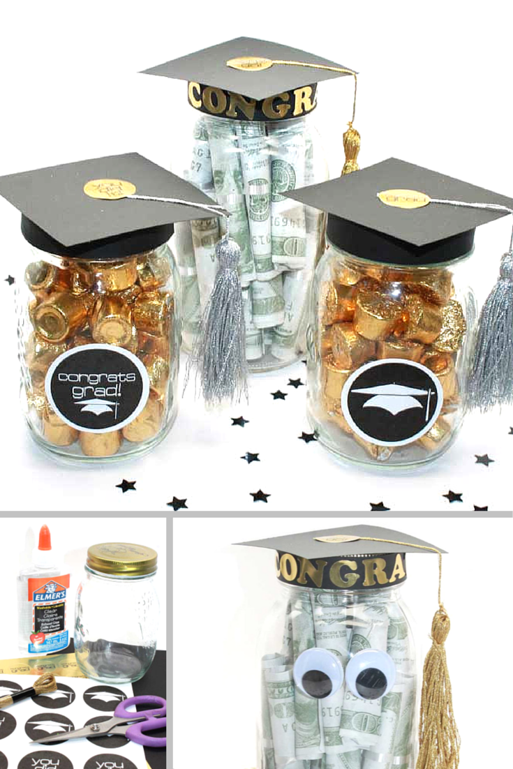 Great Graduation Party Favor Gift Idea That You Can Make Yourself Includes Free Printable