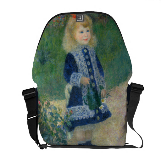 Girl with a Watering Can by Pierre-Auguste Renoir ...