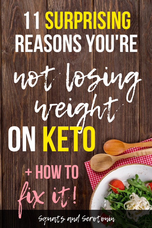 Fast weight not on keto losing