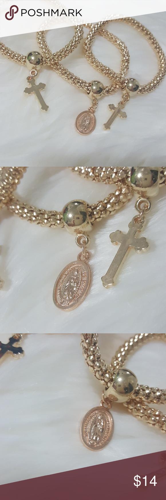 Our lady of guadalupe bracelet set bracelet set jewelry bracelets