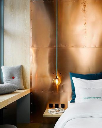The copper home decor Instagram trends takes metallics to another level.