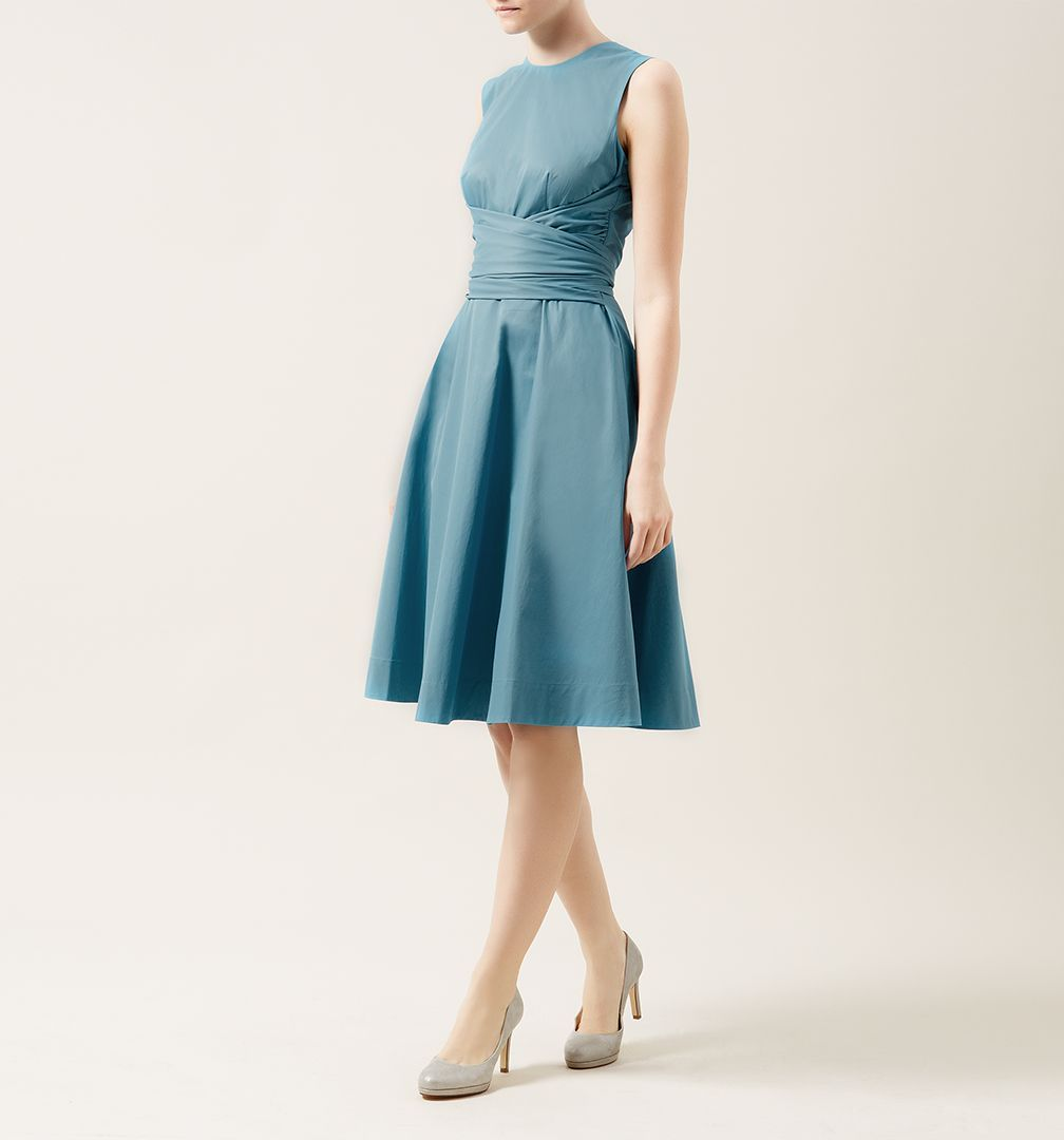 Blue Twitchill Dress | Occasion Dresses | Dresses | Hobbs | OCCASION ...