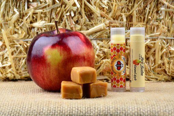 Caramel Apple Lip Balm by McKittrickValley on Etsy
