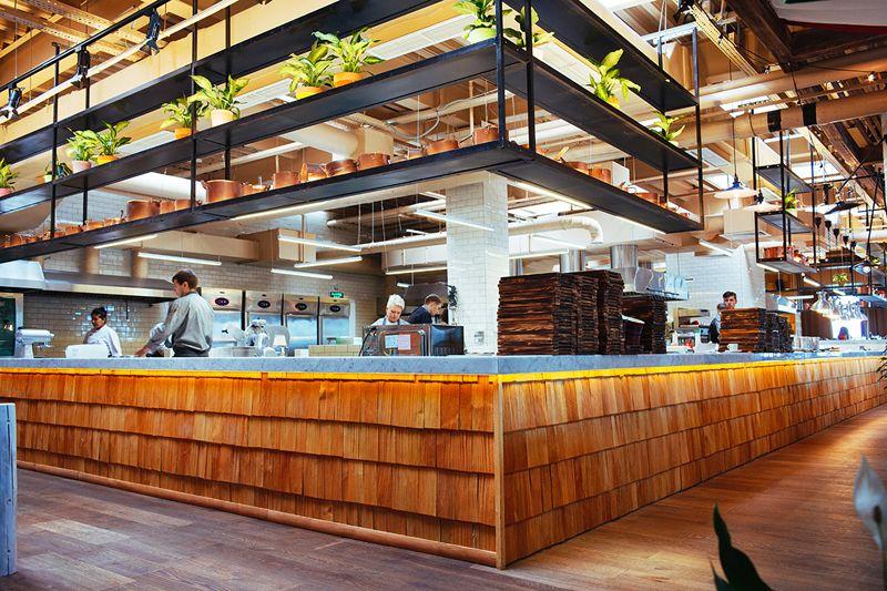 Картинки по запросу открытая кухня в кафе | Ресторан ...