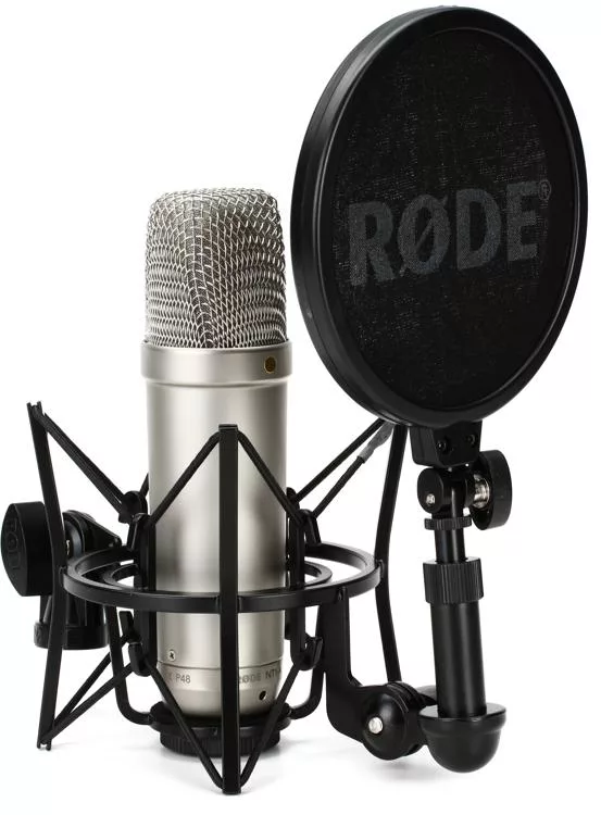 Rode Nt1 A Large Diaphragm Condenser Microphone Microphone Rode Microphone Microphone For Sale