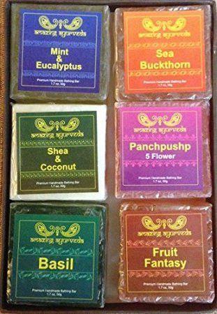 Amazing Ayurveda Premium Assorted Handmade Soap Gift Pack