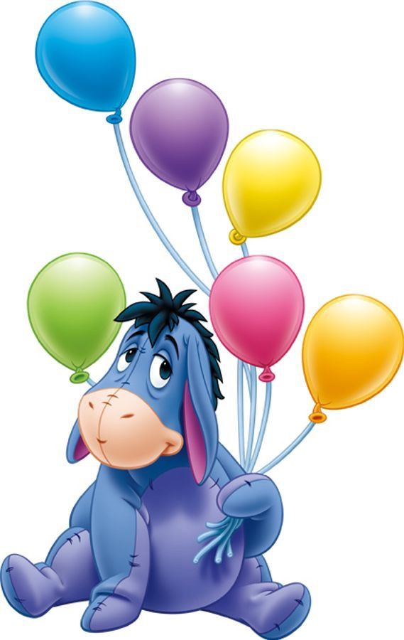 eeyore and balloons disney pinterest eeyore bears and happy rh pinterest com au Winnie the Pooh Clip Art Snow Classic Winnie the Pooh Clip Art