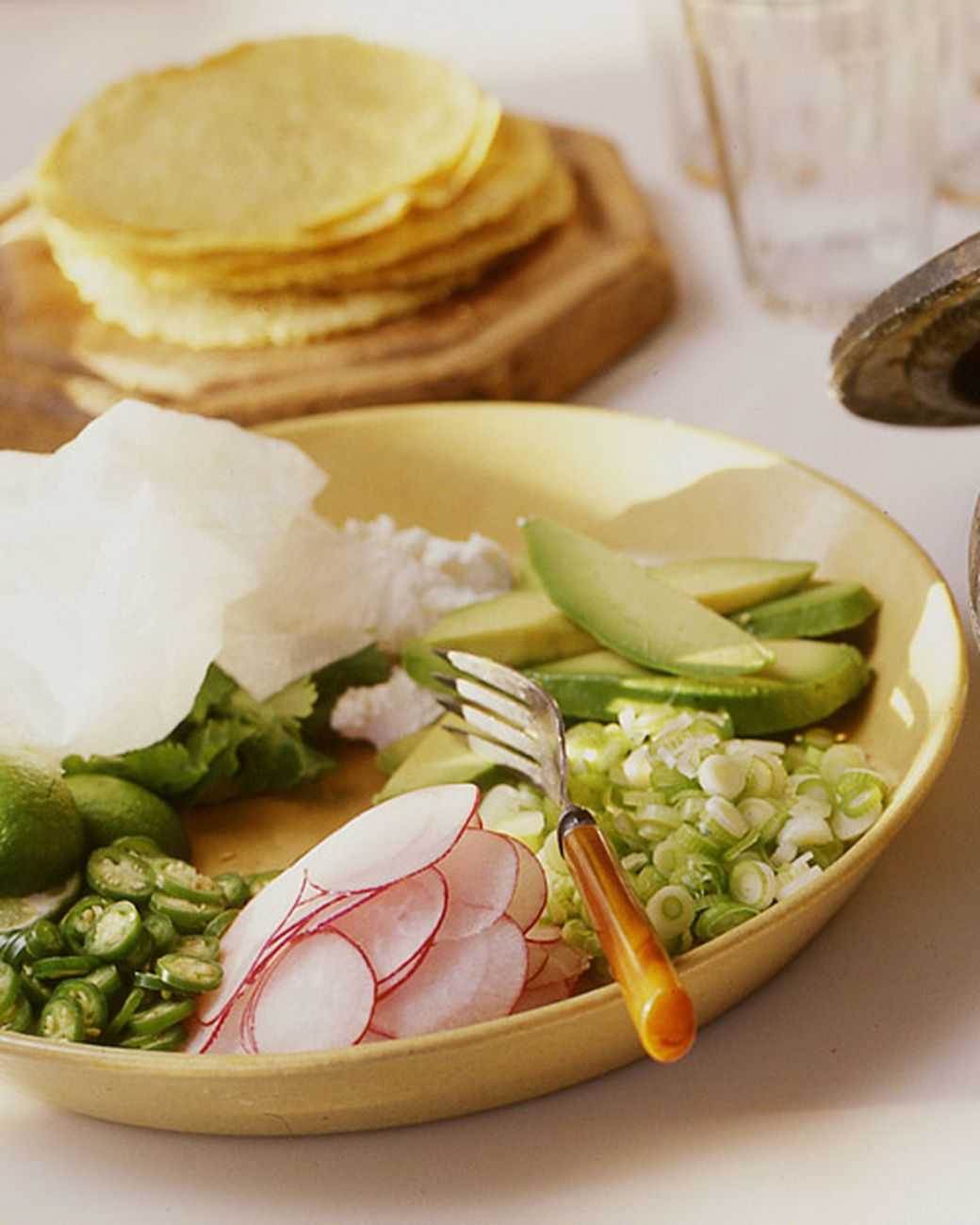 The perfect informal supper, posole, a traditional Mexican main-course soup, is a beautiful and wonderfully satisfying one-pot meal. Canned hominy is available in supermarkets, natural foods stores, and specialty markets.