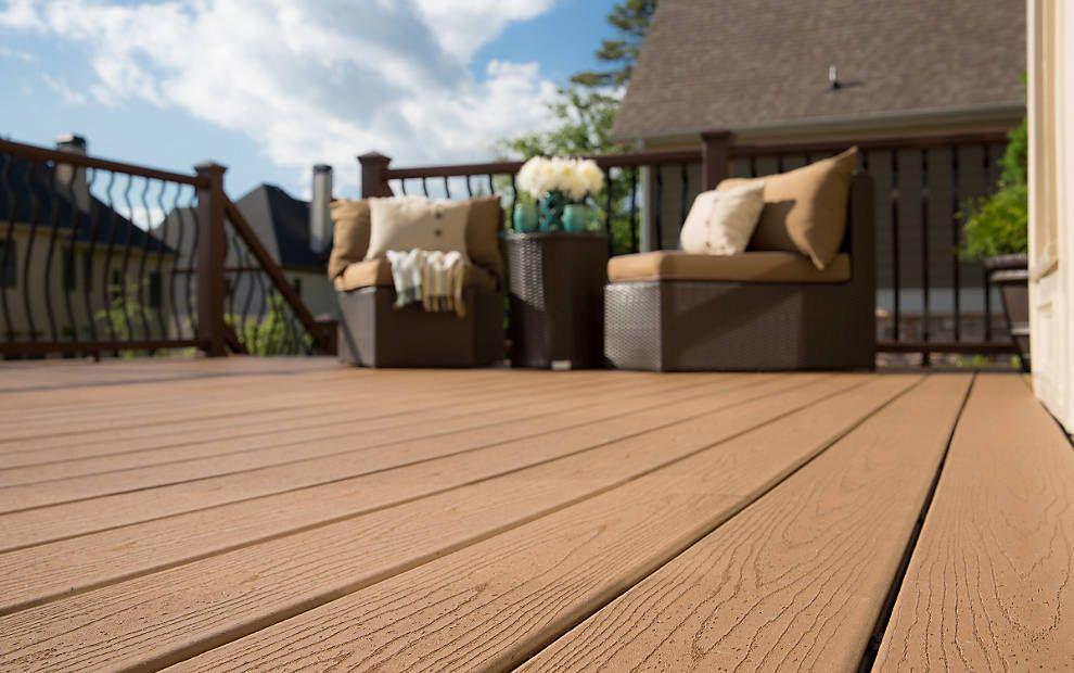 Trex Decking Has Realistic Wood Like Grain To Add