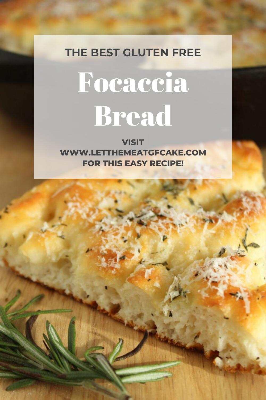 Gluten Free Focaccia Bread It S So Easy To Make This Wonderful Gluten Free Focaccia Bread It S In 2020 Gluten Free Focaccia Focaccia Bread Gluten Free Recipes Easy
