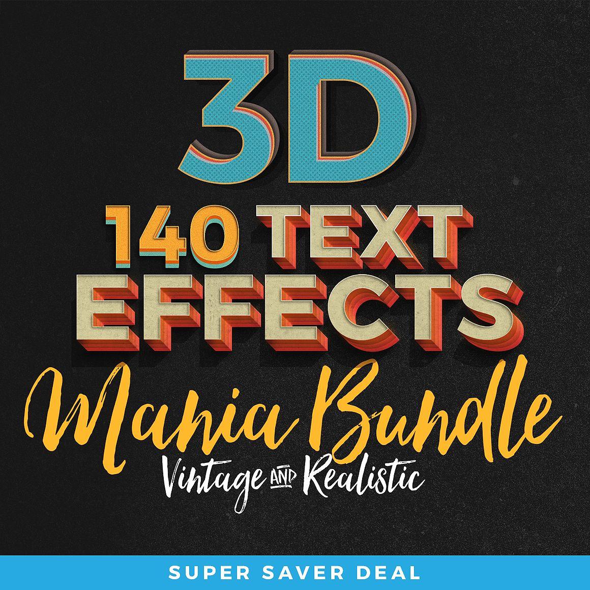 Text Effects Bundle