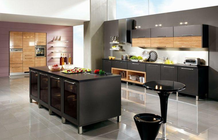 Cocinas modernas baratas para decorar los interiores | Cocina ...