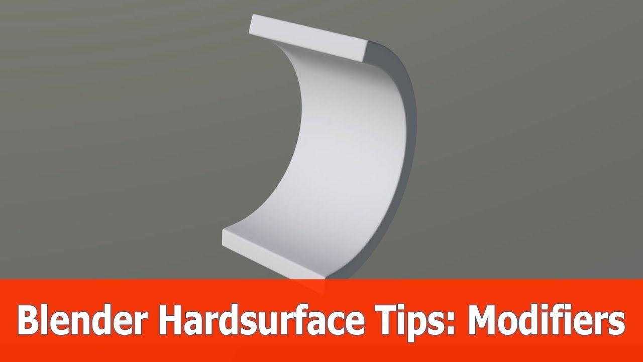 Blender Hardsurface Modeling Tips : Modifiers