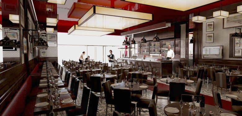Modern Restaurant Design Concept | restaurant-modern-classic-design ...